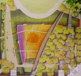 Lurie garden by gustafson for Lurie garden planting plan